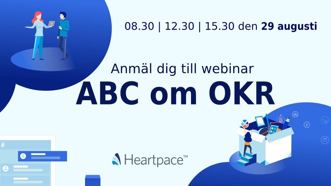 ABC om OKR - Anmäl dig till webinar