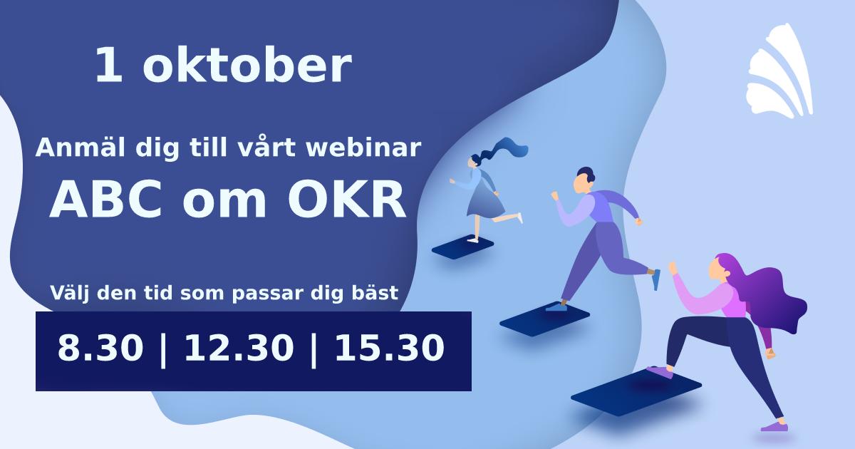 ABC om OKR - Webinar 1 oktober