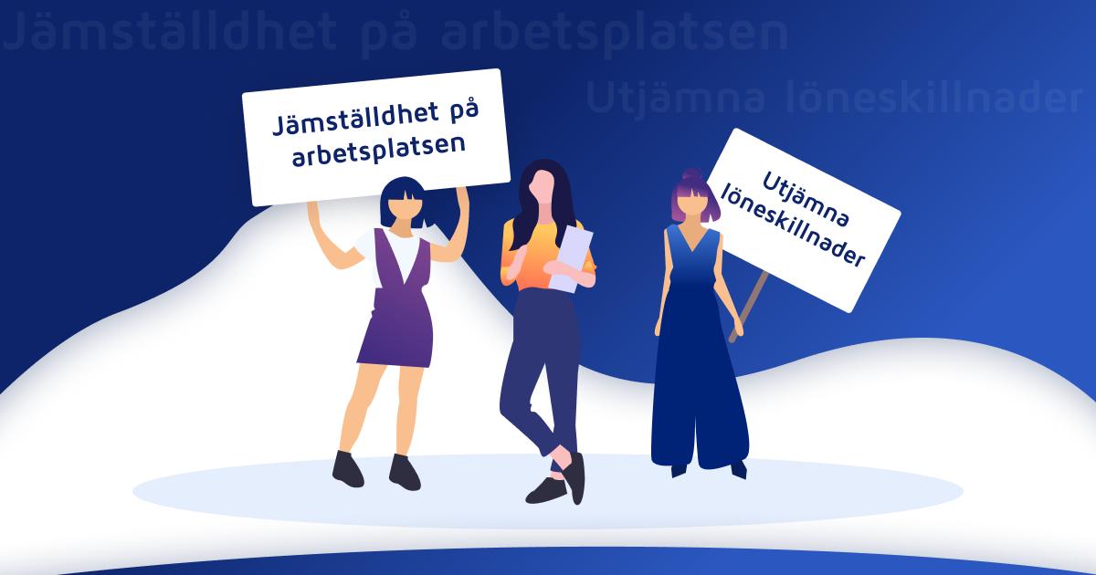 Jämställdhet på arbetsplatsen: Utjämna löneskillnader!