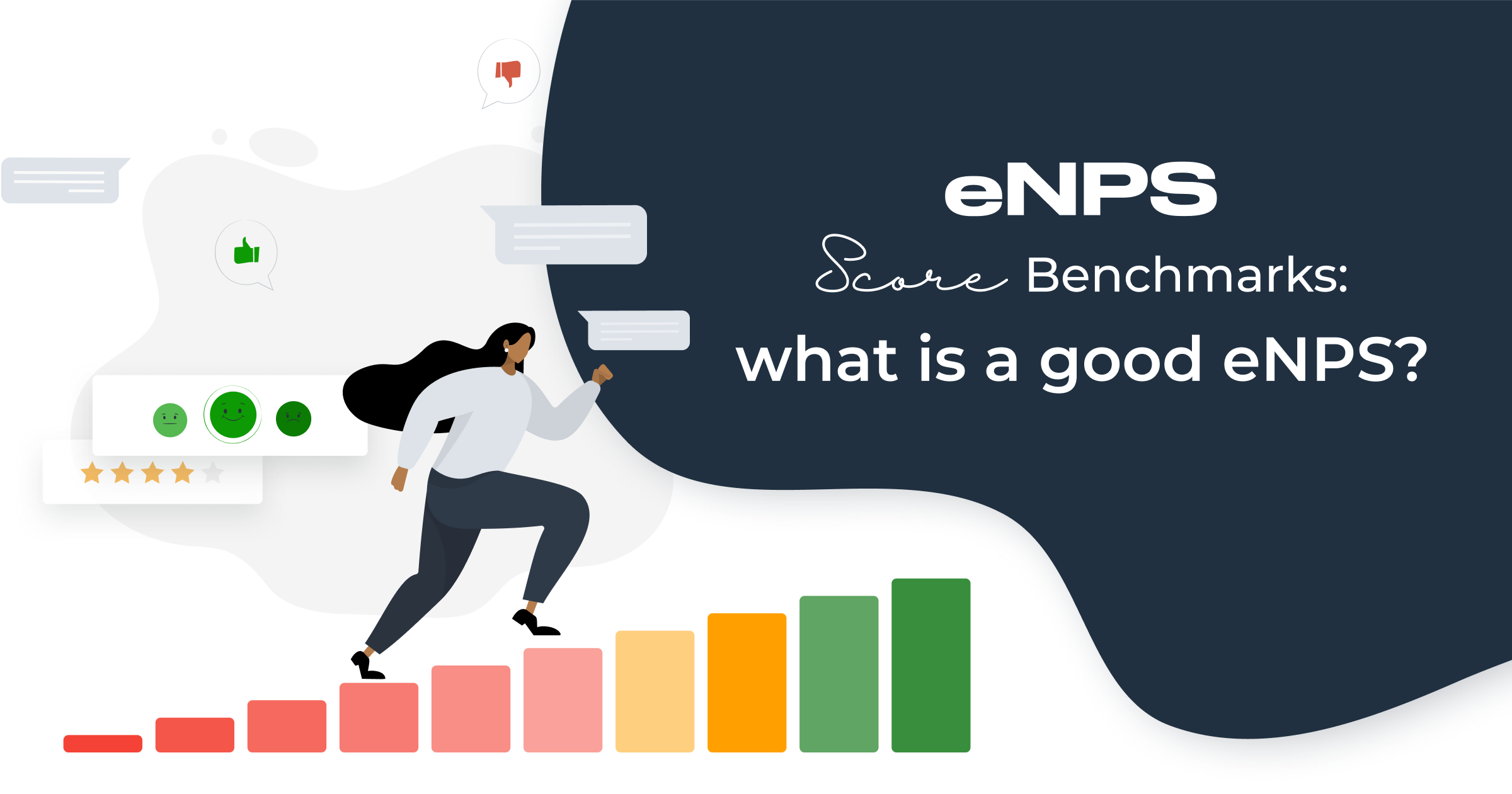 eNPS Score Benchmarks: What is a Good eNPS?