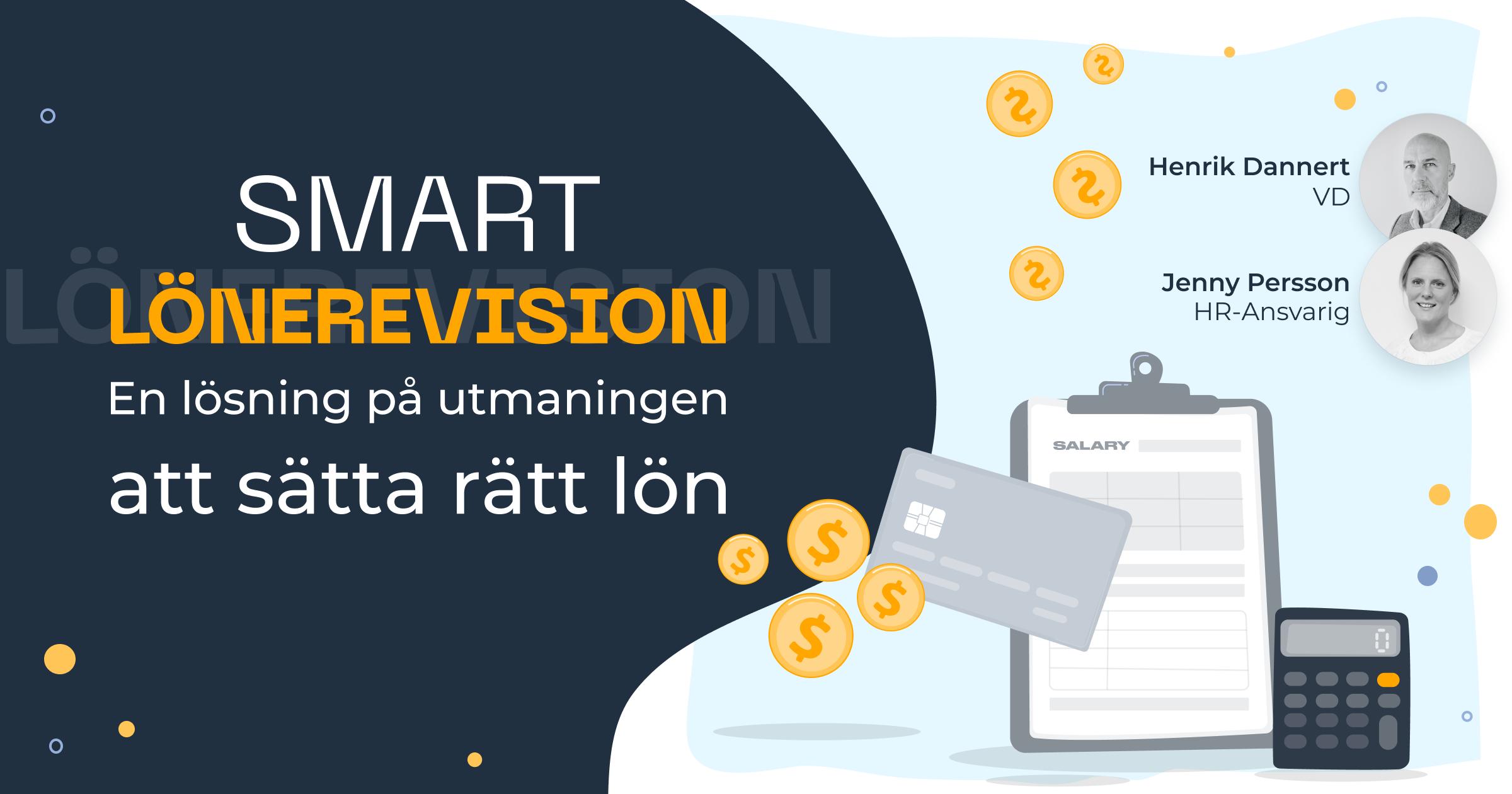 SMART Lönerevision - En lösning på utmaningen att sätta rätt lön